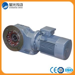 K Series Bevel Helical Gearbox with Motor pictures & photos