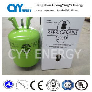 99.8% Purity Mixed Refrigerant Gas of Refrigerant R422D (R134A, R404A) pictures & photos