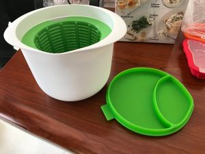 Kitchenware Plastic Material Home-Made Fresh Cheese Maker Bowl pictures & photos