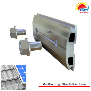 PV Roof Mount Structure Anodised Aluminum Rail Joiner (NM0171) pictures & photos