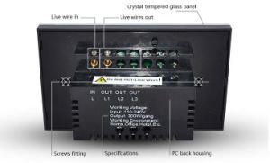 Intelligent Wireless Switch (YX-8623SC) pictures & photos