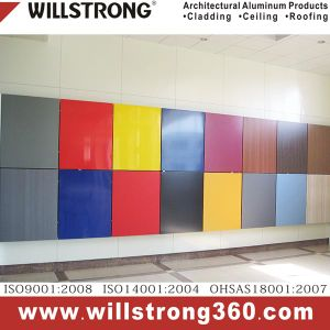 Customized Color Aluminum Composite Panel for Facade pictures & photos
