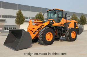 Ensign Wheel Loader 6 Ton Model Yx667 with Weichai Engine, 3.5 M3 Bucket, Joystick and A/C. pictures & photos