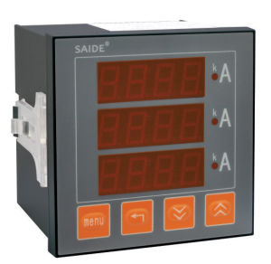 LCD Single/Three -Phase Digital Display Ammeter Instrument pictures & photos