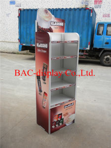5 Layers Floor-Type Coffee Metal Display Stand pictures & photos