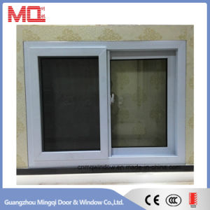 Energy Saving UPVC Insulated Glass Window with Mosquito Net pictures & photos