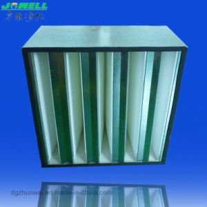 Hv HEPA Filter, V-Bank ULPA Filter and Industrial Air Filter pictures & photos