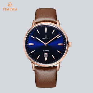Waterproof Business Watch Men′s Promotional Stainless Steel Wrist Watch 72865 pictures & photos