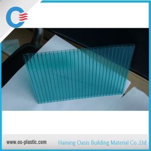 Twin Wall Hollow Polycarbonate Sheet for Construction pictures & photos