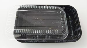 food grade disposable lunch box plastic container pictures & photos