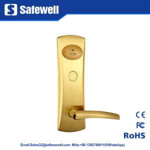 Panel 100% Pure Copper Hotel Door Lock pictures & photos