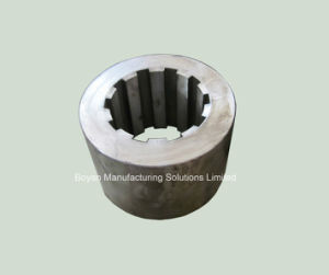Steel Bushing with Inner Spline Teeth Forged and Machined
