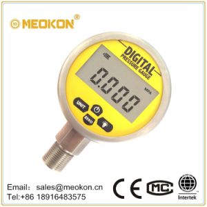 Economical Digital Gas Pressure Gauge with ISO Certificates Shanghai pictures & photos