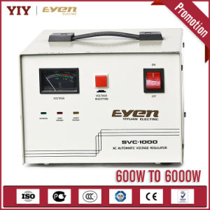SVC Servo Type Voltage Stabilizer 500va to 10kVA pictures & photos