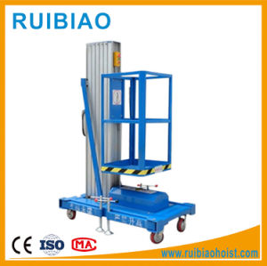 10m Meter Mobile Portable Aluminum Lift Table, Aluminum Working Platform pictures & photos
