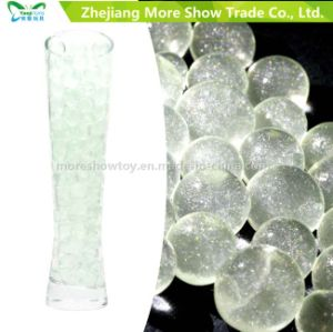 Green Glitter Crystal Soil Water Gel Beads Wedding Decoration pictures & photos