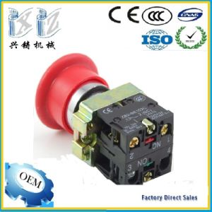 Xb2-BS545 40mm Mashroom Head 22mm 1 Nc +1 Nc Push Lock Turn Realease Emergency Stop Pushbutton Switch pictures & photos