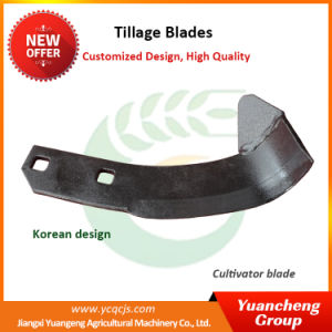 Tiller Blade Agriculture Rotary Tiller Blade Korean Rotary Tiller Blade Tractor Tiller Blade pictures & photos