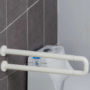 Anti-Skidding and Anti-Bacterial Toilet U-Shaped Bathroom Grab Bars for Elderly pictures & photos