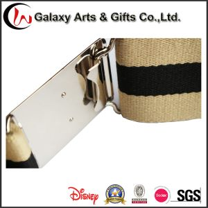 Garment Accessories of Military Cotton Webbing Man′s Waist safety Metal Belt with Buckle Belt pictures & photos