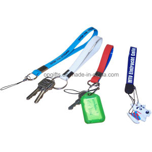 Promotional Customized Silicone Keychain with Metal Clip pictures & photos