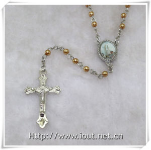 Pope Francis, Scent Rosary with Jesus Christ Crucifix Cross Packing by Plastic Box (IO-cr383) pictures & photos