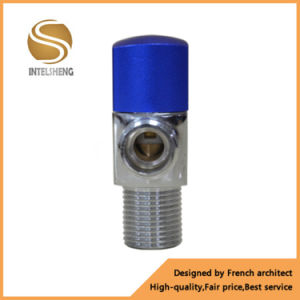 China Cheap Price Brass Angle Toilet Ball Valve pictures & photos