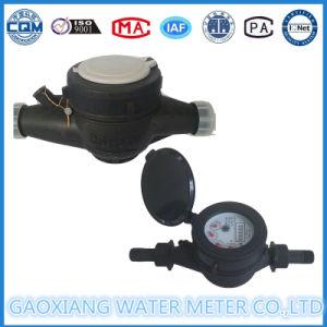 Black Nylon Plastic Single Jet Water Meter pictures & photos