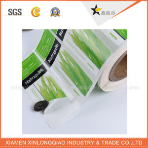 Customized Waterproof Paper Printed Bottle Label Printing Mineral Water Sticker pictures & photos