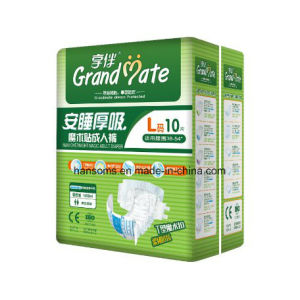 Adult Diaper with Breathable Cloth-Like Back Sheet pictures & photos