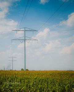 Steel Electric Power Transmission Tower with  pictures & photos