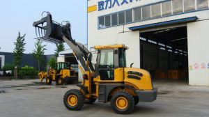 Loading 1000kg 1 Ton 1.6 Ton 1.8 Ton 2 Ton China Mini Wheel Loader Small Wheel Loader with Ce pictures & photos