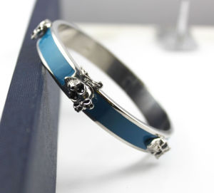 Stainless Steel Jewelry Best Selling Brand Charming Oil Drip Bangle pictures & photos