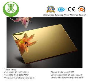 Gold Mirror Anodized Aluminum Coil (DY2002) pictures & photos