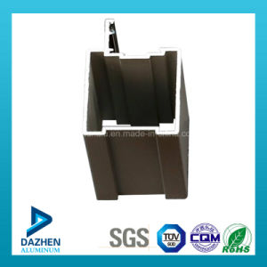 Long Lifespan Window Door Aluminium Extrusion Profile with Anodized Bronze pictures & photos