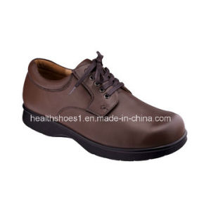 Grace Health Shoes Genuine Leather Comfort Footwear & Diabetic Footwear pictures & photos
