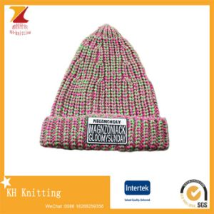 Personalized Logo Crazy Winter Knitting Hats pictures & photos