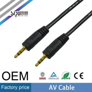 Sipu Wholesale 3.5mm Male to Male AV Cable for Audio pictures & photos