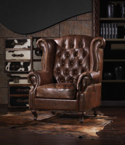 Sandringham Leather Club Chair pictures & photos