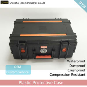 Waterproof Laptop Case Military Detection Equipment Case Plastic Case