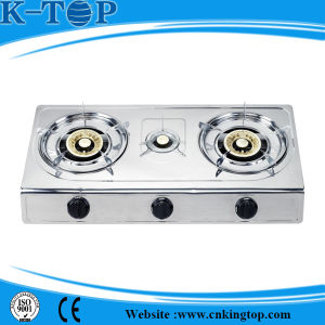 3burner Table Gas Cooker pictures & photos