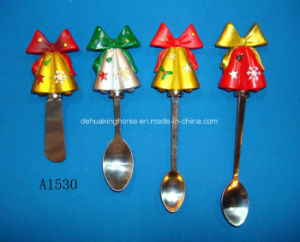 Butter Spreader with Resin Handle for Christmas Decoration pictures & photos