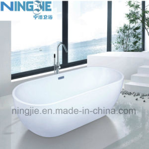 Bathroom Sanitary Ware Anquite Acrylic Bath Tub (9006B) pictures & photos
