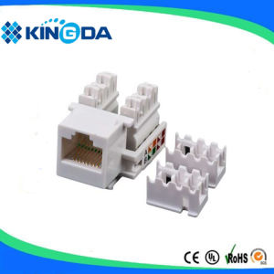 UTP Cat5e Keystone Jack RJ45 Modular Jack pictures & photos
