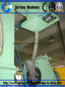 Tumblast Rubber Belt Type Shot Blast Machine for Batch Production pictures & photos