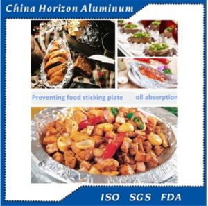 Alloy 8011-O 70micron Household Aluminum Foil Tray pictures & photos