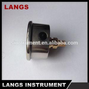 016 Brass Internal Liquid Filled Pressure Gauge pictures & photos