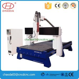 Vacuum Woodworking CNC Router 180 Degree Carving Machine for Sale pictures & photos