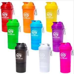 New Products 600ml Plastic Protein Joyshaker Bottle with Blender Mixer Ball pictures & photos