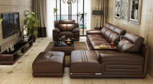 European New Design Top Grain Classic Combination Leather Sofa (HX-SN0632) pictures & photos
